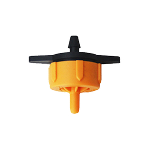 4L plastic Pressure Compensation online dripper emitter for agricultural irrigation systems