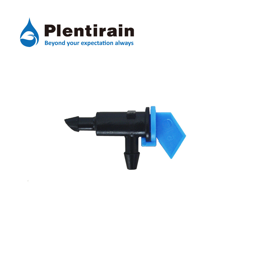 Flag Dripper without Pressure Compensation Blue color 4L/H TAD0108